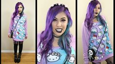 Get Ready with Me - PASTEL GOTH
