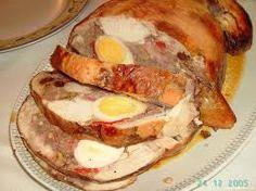 arrollados de carne pollo o cerdo