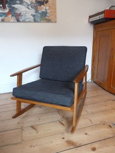 Urban Outfitters Mid Century Rocking Chair Armchair 1960s 70s Mid Century Modern in Home, Furniture & DIY, Furniture, Chairs | eBay
