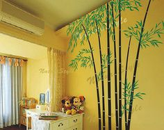 Beautiful bamboo grove -Vinyl Wall Decal,Sticker,Nature Design