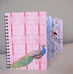 Les instants Chatouga Blog : Let's talk about... Ezebee.com Let Them Talk, Let It Be, Deco Rose, Art Deco, Stationery Paper, Writing A Book, Peacock, Creations, Notebook