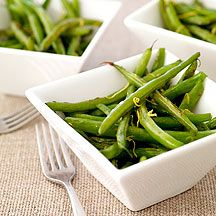 Lemon-Ginger String Beans: = 1/2 tsp. olive oil per serving of 1/4 recipe. (For SFT count oil ONLY if you use > 2 tsp healthy oil per day.)