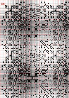 Embroidery and embroider:blackwork,plain fillings 9-17