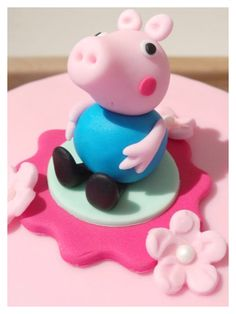 George pig from peppa pig cake