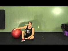 Stability Ball One Leg Hip Up - HASfit Glute Exercises - Butt Exercise -  YouTube Ejercicios 55b579ec6f34