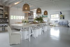 CHIC COASTAL LIVING: Serena and Lily's Beach Market in The Hamptons