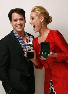 George and Izzie !