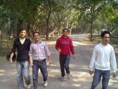 Me & My room mates at- zirkpur zoo