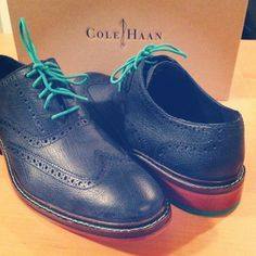 Cole Haan men's wingtips. #ColeHaan