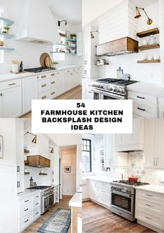 Some ideas of farmhouse kitchen backsplash can probably mean many things to those whore moody to complete the kitchen tasks. Backsplash Ideas, Kitchen Backsplash, Farmhouse, Design, Home Decor, Decoration Home, Room Decor, Kitchen Countertops