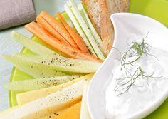 Dips de verduras con salsa de yogur  - ELLE.es