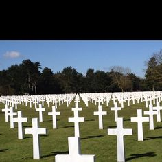 The cemetery at Omaha beach Normandy France very moving