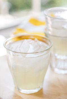Fresh Ginger Lemonade: Tangy lemon...with the zing of ginger!