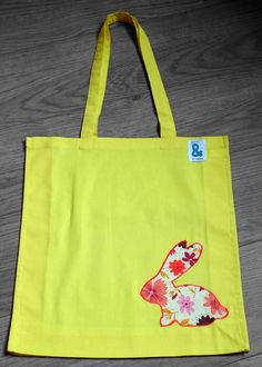 Check out this item in my Etsy shop https://www.etsy.com/listing/228860882/yellow-cotton-tote-bag-with-appliqued