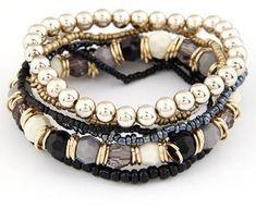 Beach Bracelets, Layered Bracelets, Bangle Bracelets, Bangles, Stretch Bracelets, Pandora Bracelets, Handmade Jewelry Bracelets, Craft Jewelry, Colorful Bracelets