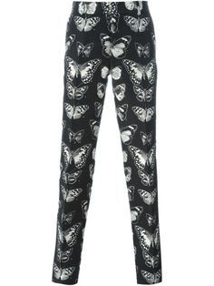 Shop Alexander McQueen moth jacquard trousers in Eraldo from the world's best independent boutiques at farfetch.com. Shop 400 boutiques at one address.