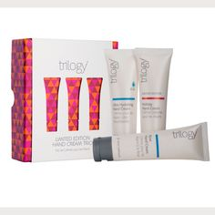 Trilogy Limited Edition Hand Cream Collection | elegantly organic