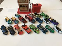 Hot wheels red lines and sizzlers