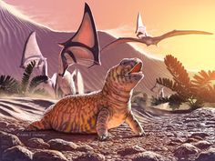 "Fossil remains of Old World lizard discovered in New World overturn long-held hypothesis of lizard evolution...""This fossil is an 80 million year old specimen of an acrodontan in the New World,"" explains Caldwell. ""It's a missing link in the sense of the paleobiogeography and possibly the origins of the group, so it's pretty good evidence to suggest that back in the lower part of the Cretac"