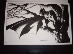 Bernie Wrightson Batman Comic Art