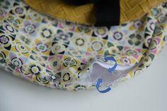 Le sac cabas rond réversible | Les tutos couture de Dodynette Bag Patterns To Sew, Sunglasses Case, Sewing, Jute, Blog, Fashion, Hand Bags, Sewing Projects, Ideas