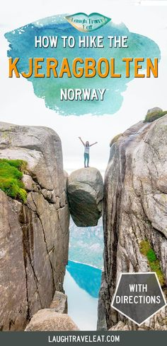 The Kjeragbolten hike is a great add-on or alternative to Pulpit Rock in Norway, and here's how to get there + hike it: