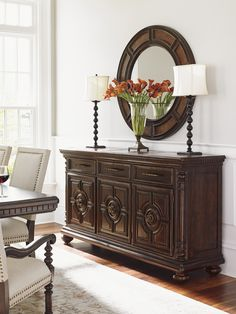 Lexington Home Brands offers a wide array of upscale home furnishings and furniture from Lexington and Tommy Bahama. Tuscan Furniture, Colonial Furniture, Home Decor Furniture, Dining Room Furniture, Furniture Design, Living Room Mirrors, Small Living Rooms, Tuscan Decorating, Decorating Your Home