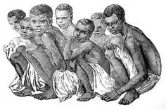 Images of African Slavery and the Slave Trade: Young African Boys Captured for Slave Trade