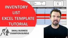 Inventory Spreadsheet Template - Excel Product Tracking Inventory Management, Business Management, Microsoft Excel, Starting Your Own Business, Good To Know, Marketing And Advertising, Track, Social Media, Trends