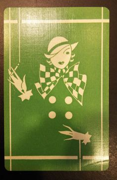 Gibson Playing Cards Vintage Joker Card