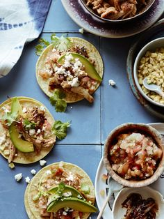 Slow Cooker Chicken Tacos are the ultimate fall dinner!