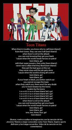 Teen titans, go!!