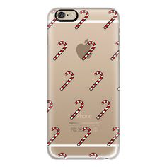iPhone 6 Plus/6/5/5s/5c Case - Candy cane ($40) ❤ liked on Polyvore featuring accessories, tech accessories, iphone case, apple iphone cases and iphone cover case