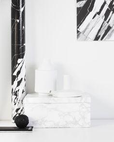 Marble | Black   White