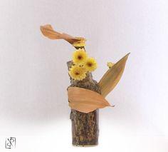 (Ikebana e vaso di Luca Ramacciotti) #ikebana #sogetsu #ceramica #ceramics