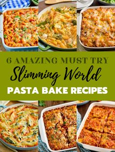 6 Must Try Best Ever Slimming Welt Pasta Bakes - wenn Sie Pasta Backen kochen, m . - Receipes and slimming world - Pasta Rezepte Slimming World Pasta Bake, Slimming World Dinners, Slimming World Recipes Syn Free, Slimming World Diet, Slimming Eats, Chicken And Bacon Pasta Bake, Baked Pasta Recipes, Diet Recipes, Healthy Recipes