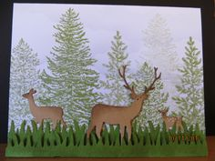 Deer Trio All Occasion. by carleneanne - Cards and Paper Crafts at Splitcoaststampers