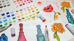 Blick Studio Brush Marker Review