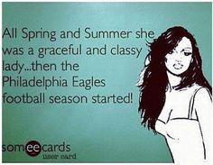 Can't wait til football season! Eagles Football Team, Go Eagles, Eagles Fans, Fly Eagles Fly, Eagles Gear, Football Memes, Philadelphia Eagles Funny, Philadelphia Sports, Football Season Starts