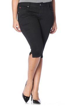 21adacbcd0e SLINK JEANS PIRATE CAPRI SKINNY JEANS.  slinkjeans  cloth   Women s Plus  Size Jeans