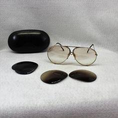 5450b54cfda Vintage authentic aviator Porsche designed Carrera Sunglasses. They are  circa 1980 s sunglasses.  5621 size 69.