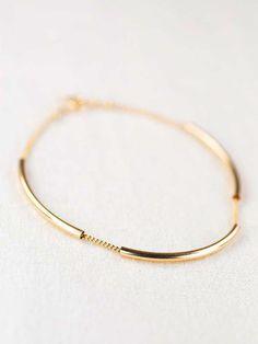 Ho'okele bracelet minimal gold bracelet