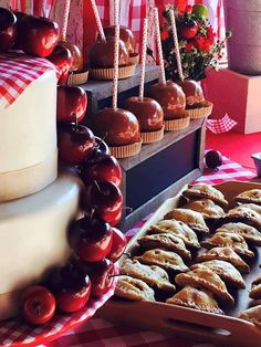 Delicious desserts at an apple orchard party! See more party ideas at CatchMyParty.com!