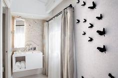 Baño de la habitación estándar en hotel en Mallorca