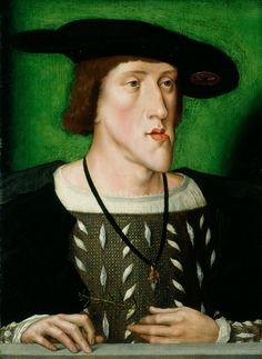 Flemish School. Emperor Charles V, 1514-16