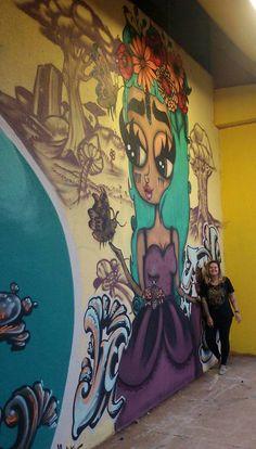 Graffiti Flores e insetos