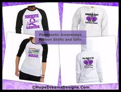 Shop Pancreatic Cancer Shirts and Gifts by http://hopedreamsdesigns.com/pancreatic-cancer-shirts-and-gifts/
