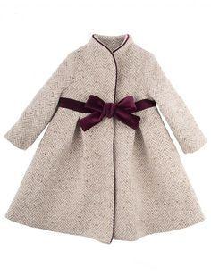 overcoat niñas - Buscar con Google Abrigo Niña 38b2345f60b9