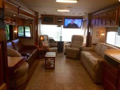 2005 Used Newmar Mountain Aire 4032 Class A in Florida FL.Recreational Vehicle, rv, 2005 Newmar Mountain Aire 4032, This diesel pusher has low mileage and very clean Inside and outside (non-smoker). This full body paint unit is built on a Spartan chassis, with: 6 new Michelin tires, 6 new batteries, 4 slide-outs, aqua hot heating system with floor ducts, 2 AC/heat pumps, generator Onan 7500 quiet diesel, power cord reel, power hose reel, automatic hydraulic levering system, fueling from…