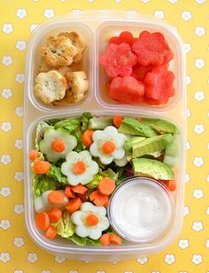 Lunch just got a little cuter - use cookie cutters to make fun shapes!
